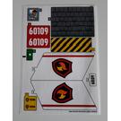 LEGO Sticker Sheet for Set 60109 (24511)