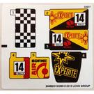 LEGO Sticker Sheet for Set 60113 (24488 / 24495)