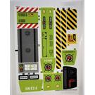 LEGO Sticker Sheet for Set 60124 (24530)