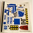 LEGO Sticker Sheet for Set 60138 (30891)