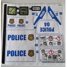 LEGO Sticker Sheet for Set 60139 (31816)