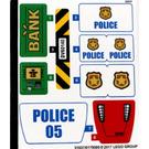 LEGO Sticker Sheet for Set 60140 (31837)