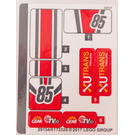 LEGO Sticker Sheet for Set 60145 (29154)