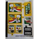 LEGO Sticker Sheet for Set 60150 (29583)