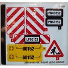 LEGO Sticker Sheet for Set 60152 (28903)