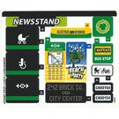 LEGO Sticker Sheet for Set 60154 (34440)