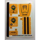 LEGO Sticker Sheet for Set 60158 (33495)