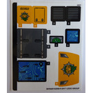 LEGO Sticker Sheet for Set 60160 (34104)