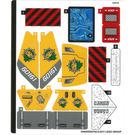 LEGO Sticker Sheet for Set 60161 (35460)