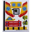 LEGO Sticker Sheet for Set 60179 (36067)