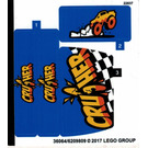 LEGO Sticker Sheet for Set 60180 (36064)