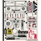 LEGO Sticker Sheet for Set 60188 (37391)