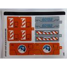 LEGO Sticker Sheet for Set 60192 (38616)