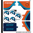 LEGO Sticker Sheet for Set 60193 (38615)