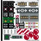 LEGO Autocollant Sheet for Set 60198 (38749)