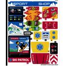 LEGO Sticker Sheet for Set 60203 (65912)