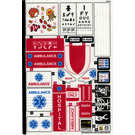 LEGO Sticker Sheet for Set 60204 (38770)