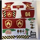 LEGO Sticker Sheet for Set 60214 (44483)