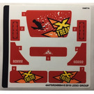 LEGO Sticker Sheet for Set 60222 (44478)