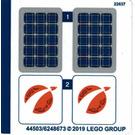LEGO Sticker Sheet for Set 60224 (44503)