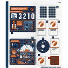 LEGO Sticker Sheet for Set 60228 (58008)