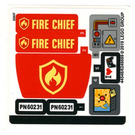 LEGO Sticker Sheet for Set 60231 (44548)