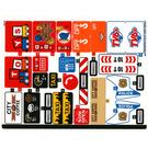 LEGO Sticker Sheet for Set 60233 (44578)