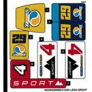LEGO Sticker Sheet for Set 60256 (66229)