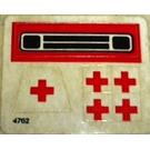 LEGO Sticker Sheet for Set 623-1