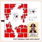 LEGO Sticker Sheet for Set 6242 (Red Masonry Version) (87077)