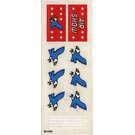 LEGO Sticker Sheet for Set 6345