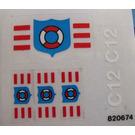 LEGO Sticker Sheet for Set 6353