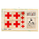 LEGO Sticker Sheet for Set 6364