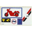 LEGO Sticker Sheet for Set 6373
