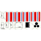 LEGO Sticker Sheet for Set 6374
