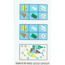 LEGO Sticker Sheet for Set 6414