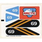 LEGO Sticker Sheet for Set 6586 (72539)