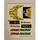 LEGO Sticker Sheet for Set 6616 (23064)