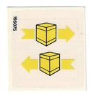 LEGO Sticker Sheet for Set 6624