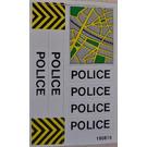 LEGO Sticker Sheet for Set 6676