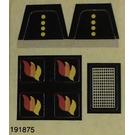 LEGO Sticker Sheet for Set 6690