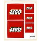 LEGO Sticker Sheet for Set 6692