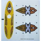LEGO Sticker Sheet for Set 6737 (43660)