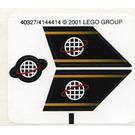 LEGO Sticker Sheet for Set 6772 (40327)