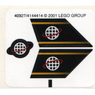 LEGO Sticker Sheet for Set 6772 / 6773 (40327)