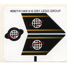 LEGO Sticker Sheet for Set 6773 (40327)