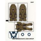 LEGO Sticker Sheet for Set 6865 (10867)