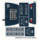 LEGO Sticker Sheet for Set 6867 (10834)