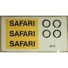 LEGO Sticker Sheet for Set 699-1