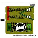 LEGO Sticker Sheet for Set 70001 (13370)